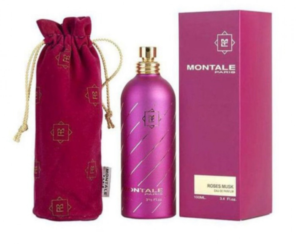 مونتال عطر روزيز مسك او دي بارفيوم للنساء 100مل  MONTALE ROSES MUSK
