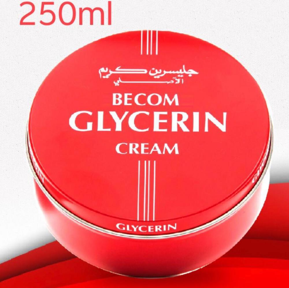 بيكوم جليسرين كريم لليدين 250مل BECOM GLYCERIN CREAM