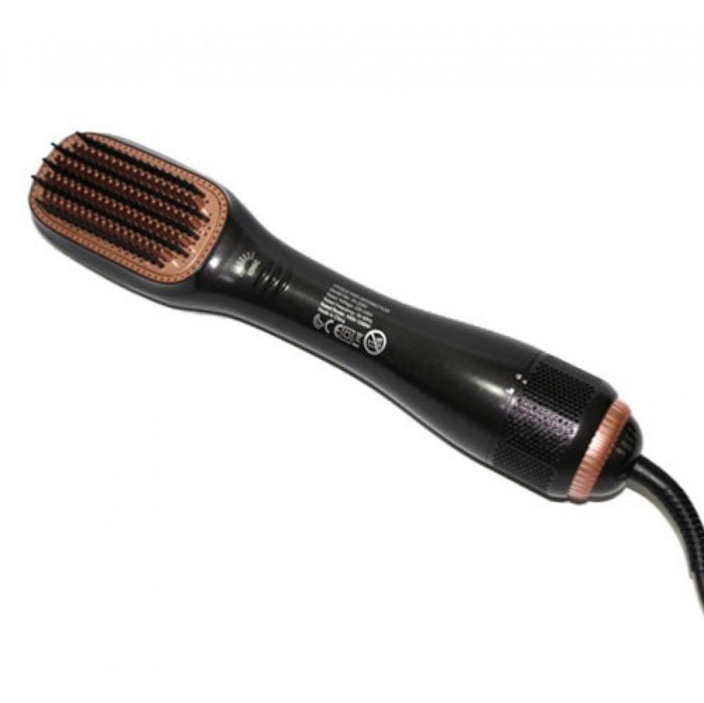 اكوور  مجفف ومصفف شعر 2 في 1 أسود  AKOOR Hair Dryer and Styler 2 In 1