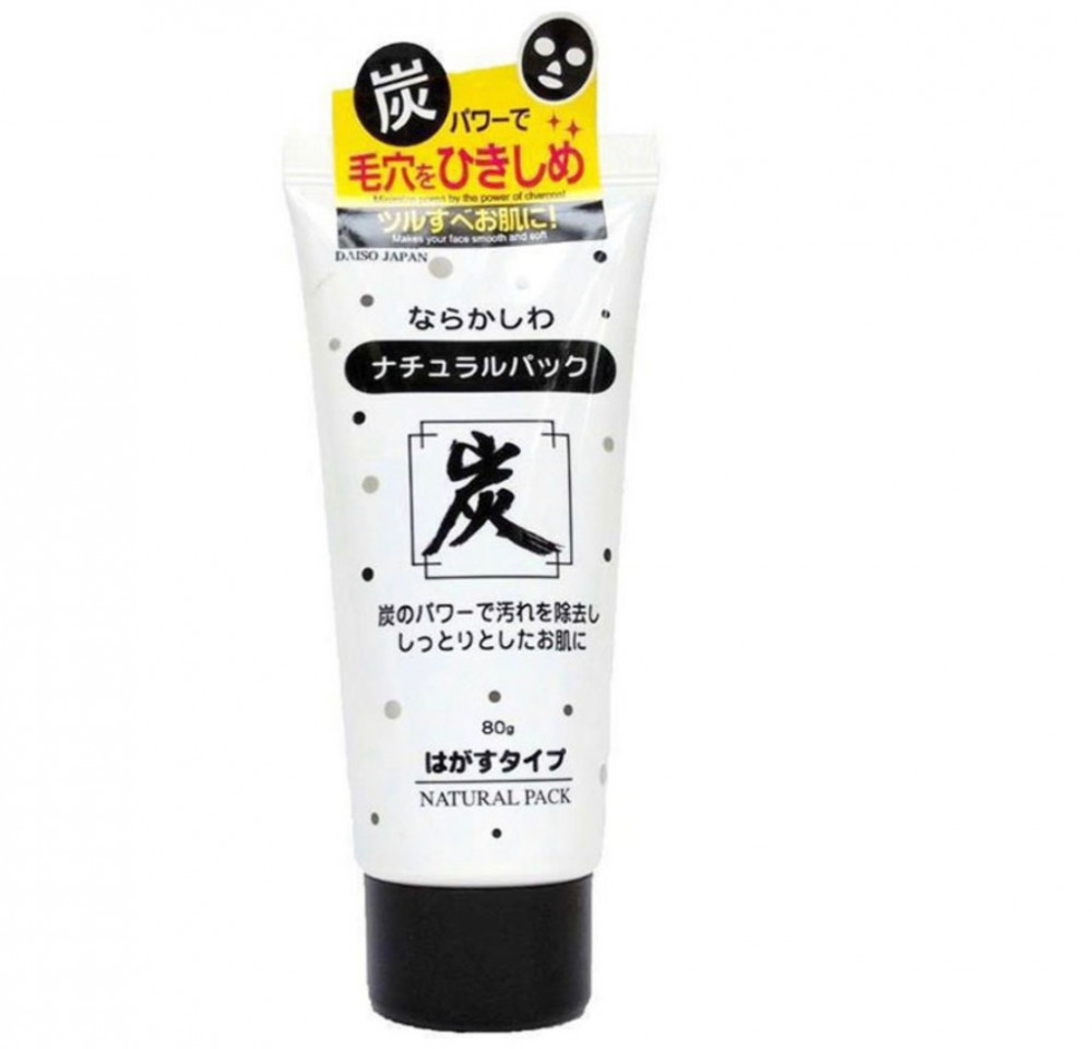 دايسو قناع الفحم الطبيعي للتقشير 80غم  DAISO JAPAN Deep Cleaning Skin