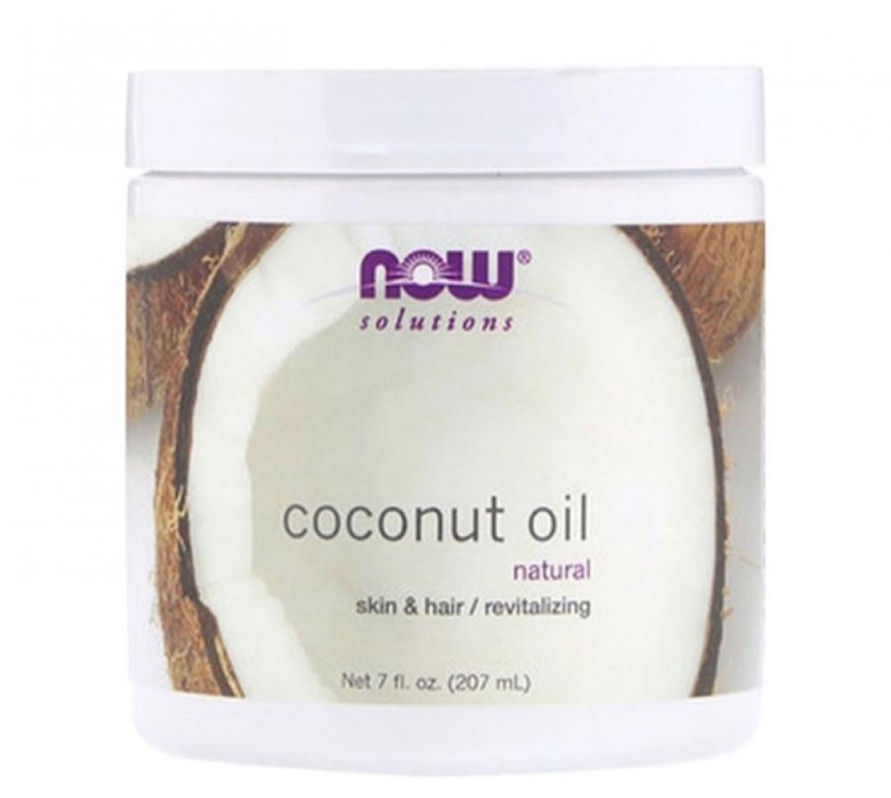 ناو فودز زيت جوز الهند الطبيعي للبشرة والشعر 207مل Now Foods Coconut O