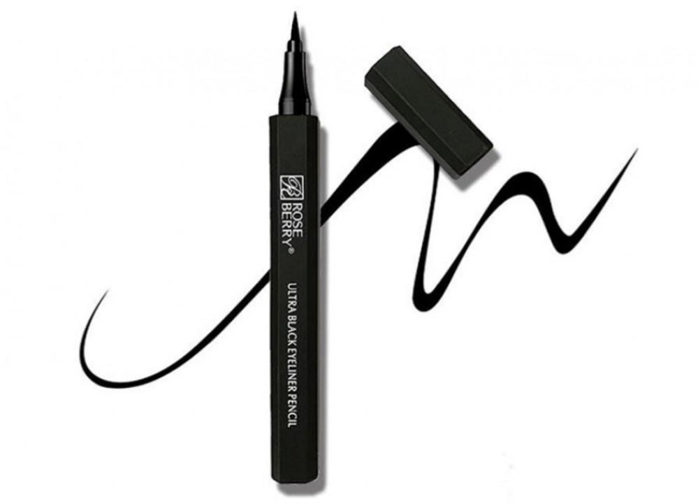 Rose Berry Luxurious Black Eye Pencil
