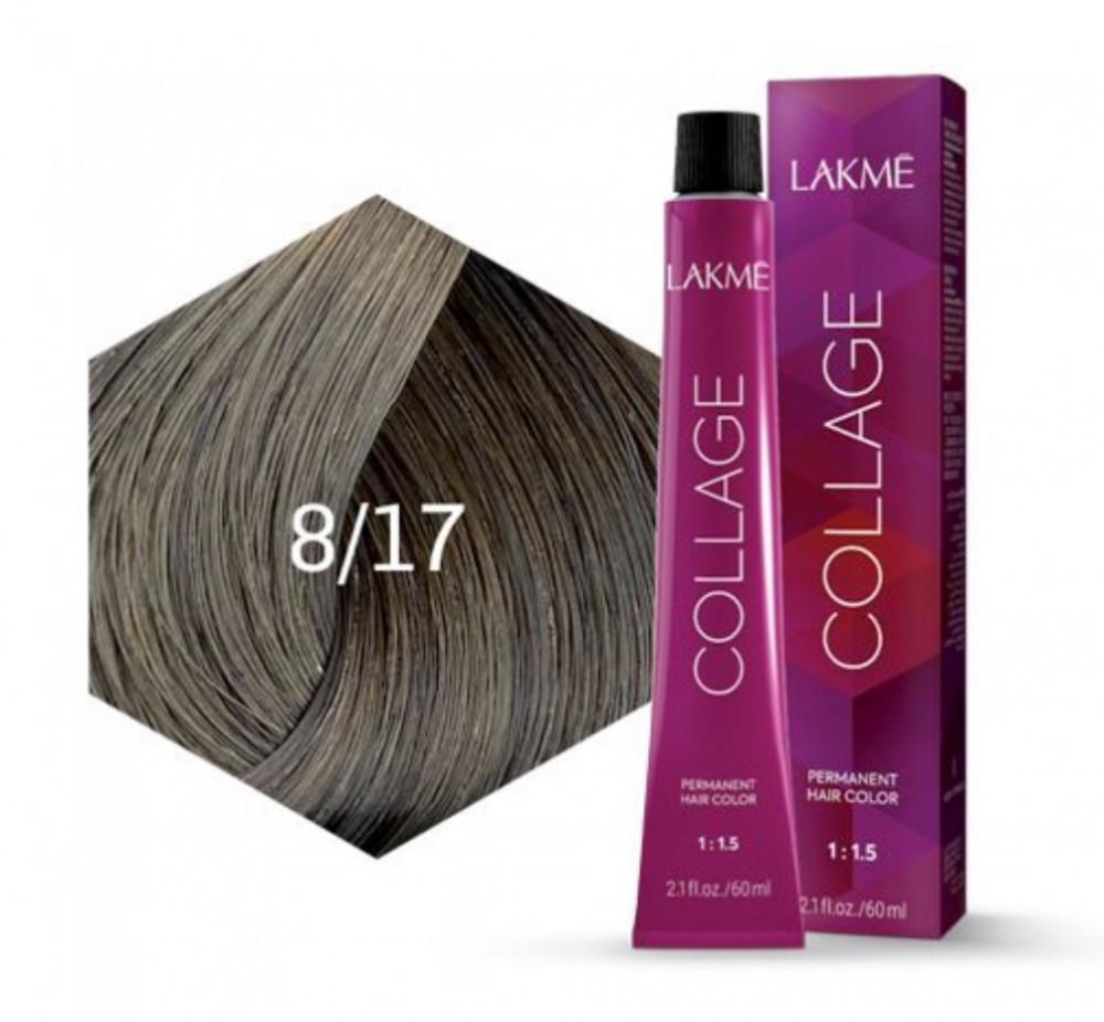 Lakme Collage Creme Hair Color 8-17 Blue Ash Light Blonde