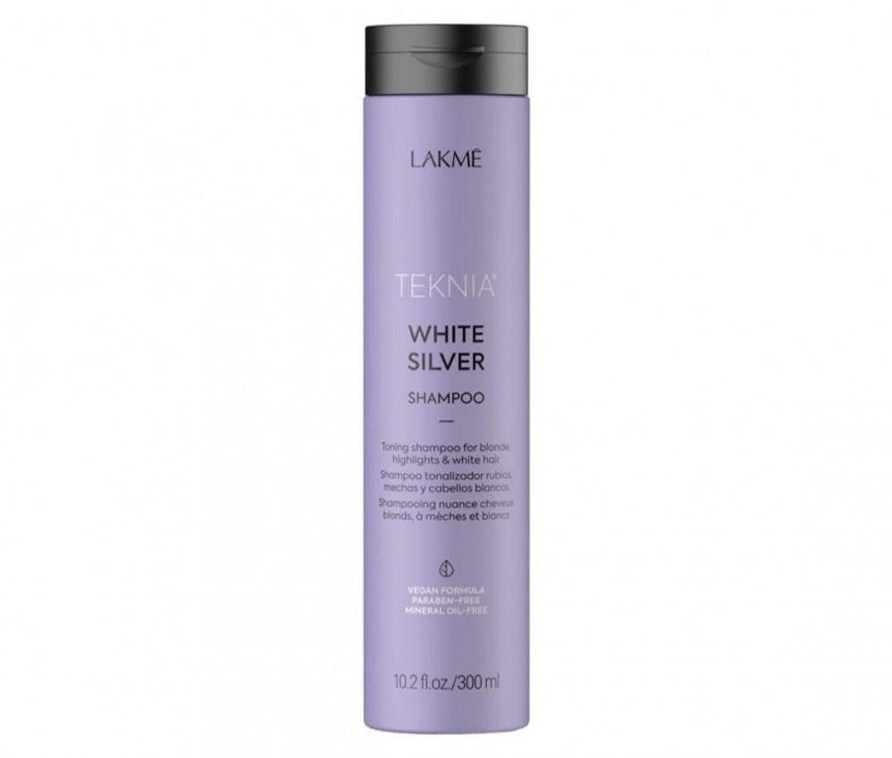 لاكمي شامبو لاكمي تكنيا  فضي ابيض 300مل Lakme Teknia shampoo silver wh