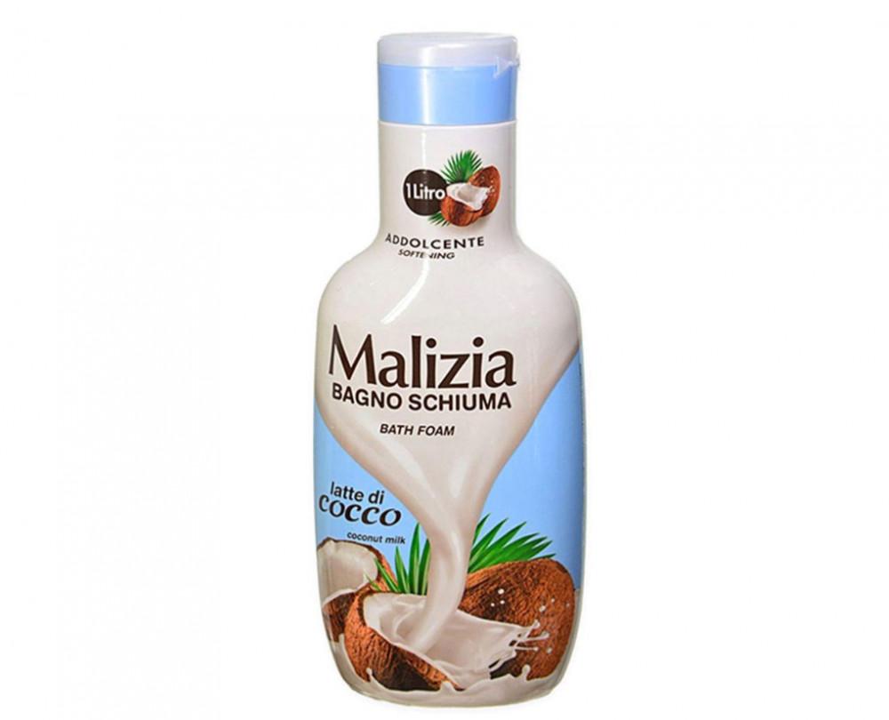 Malizia Bagno Schiuma Coconut Milk Bath Foam