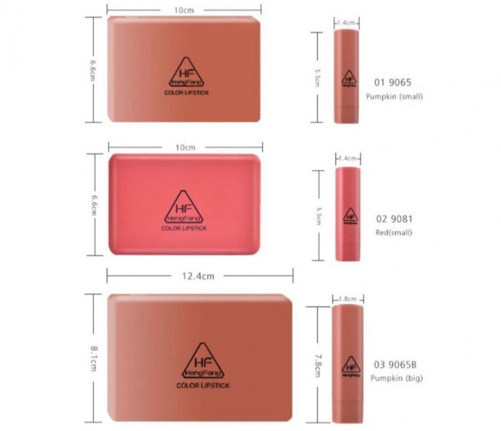 هينغ فانغ مجموعة احمر شفاه غير لامع 6قطع متعدد الالون