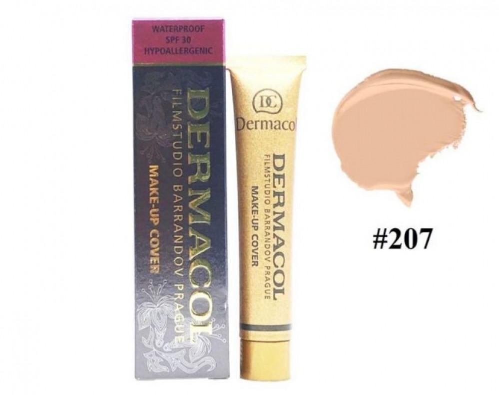 ديرما كول كريم اساس 207 للوجه DERMACOL Make Up Cover Foundation 207
