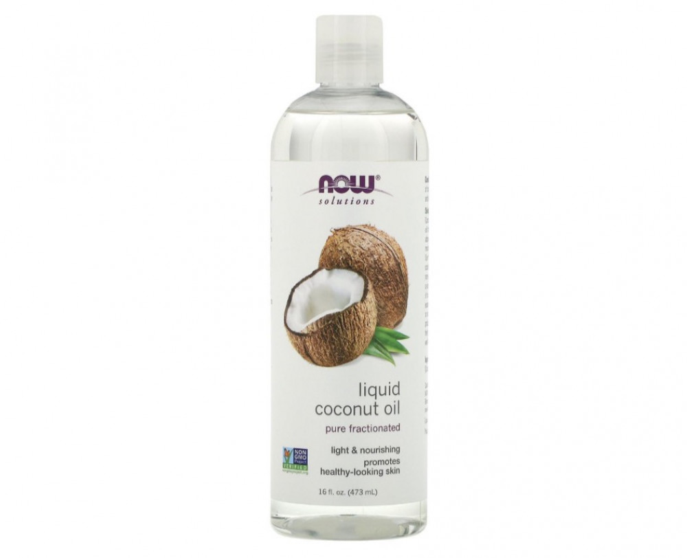 ناو فودز زيت جوز الهند السائل النقي 473مل Now Foods Coconut Oil