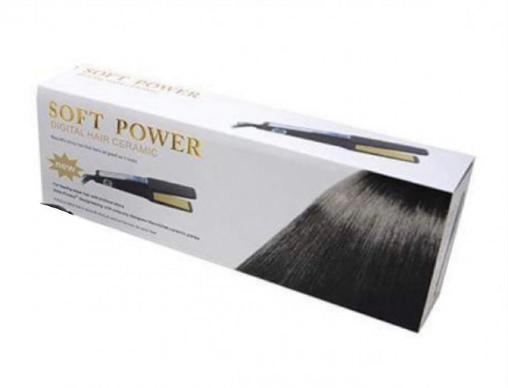 سوفت باور جهاز تمليس الشعر من السيراميك SF-0012A رقمي  Soft Power Digi
