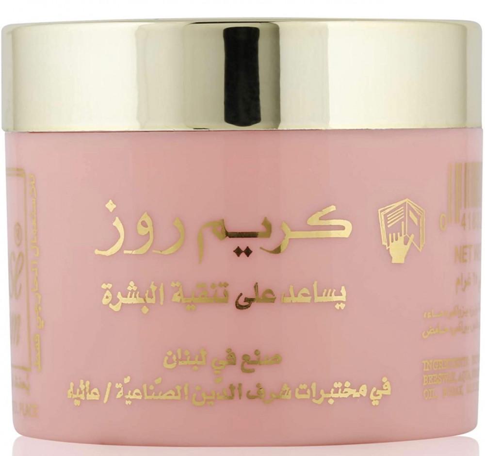 روز كريم روز للوجه للتنظيف البشرة 3 قطع 25 غم  Rose Cream Face Cream