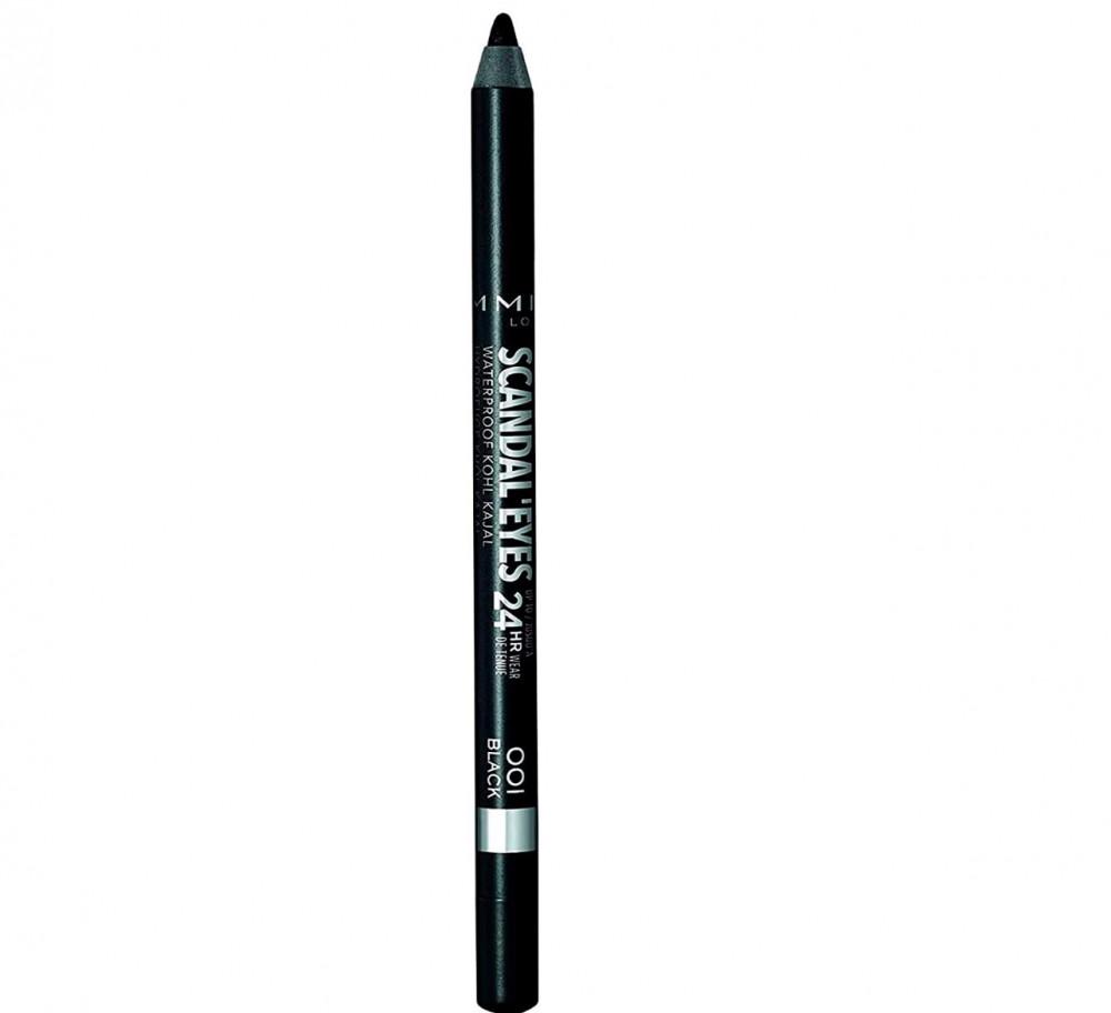 ريميل لندن قلم كحل كاجل لاينر مقاوم للماء 01 اسود  Rimmel London, Scan