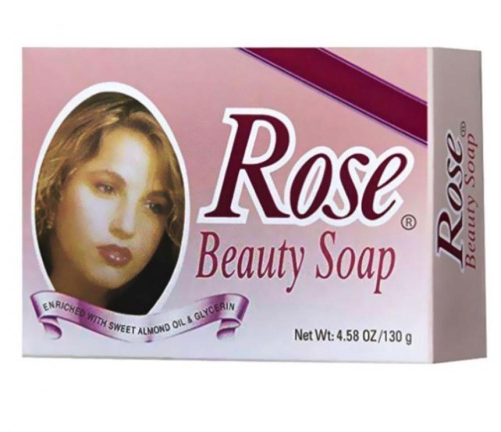 روز صابون العناية بالجمال 130غم Rose beauty care soap