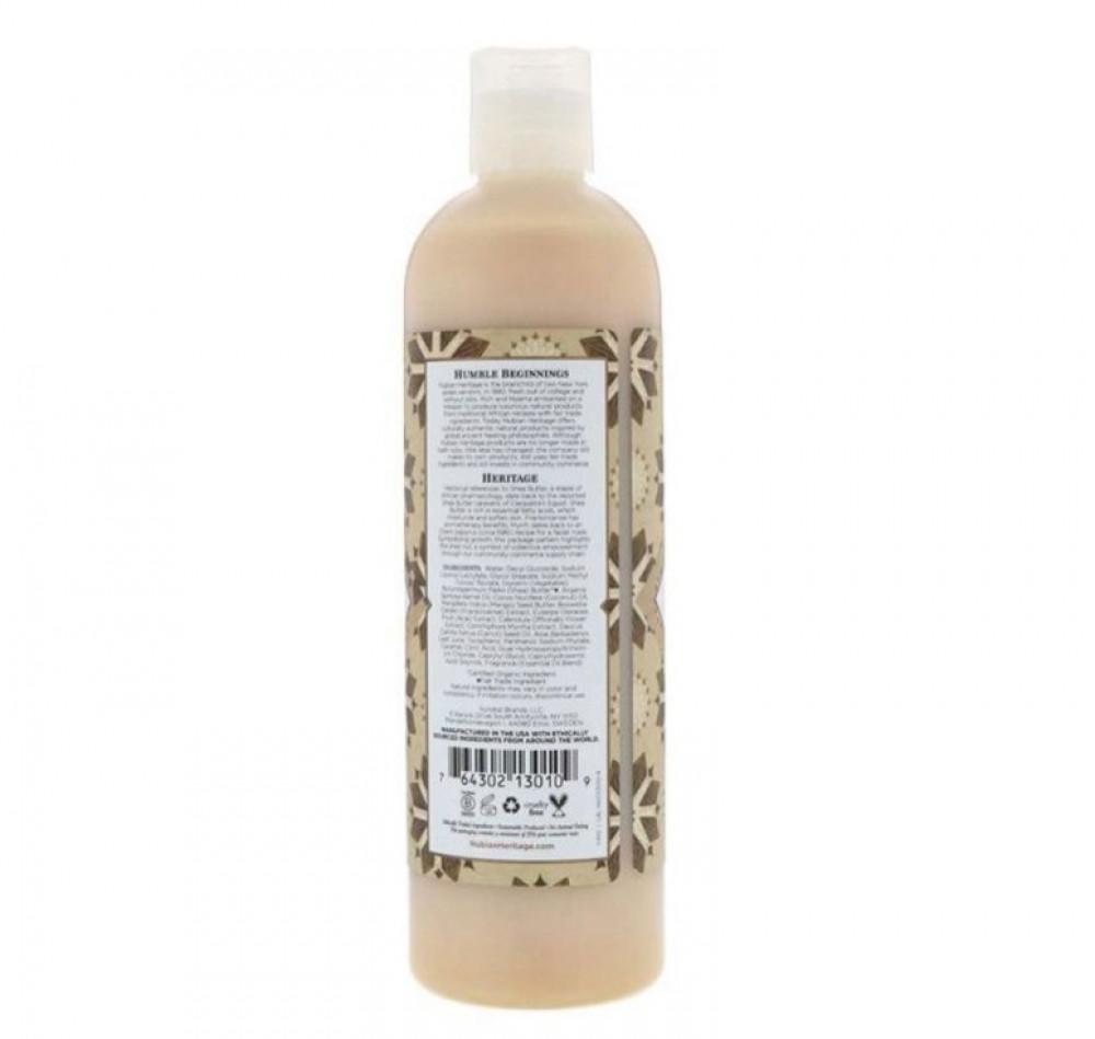 نوبيان هيريتاج صابون سائل للاستحمام للجسم بزبدة الشيا الخام 384مل