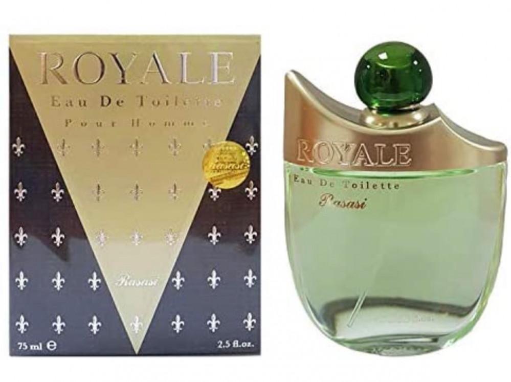 رصاصي عطر رويال او دي بارفيوم للرجال 75مل Royale Men By Rasasi