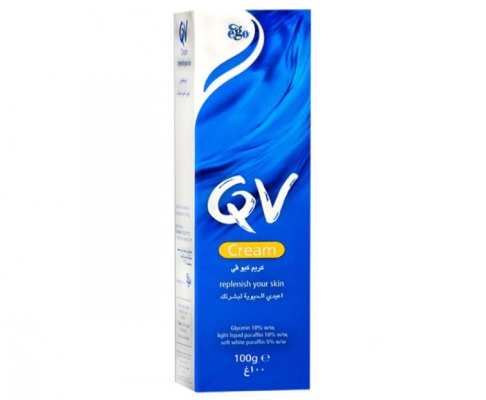 كيو في  كريم مرطب للبشرة 100غم  QV Cream 100g