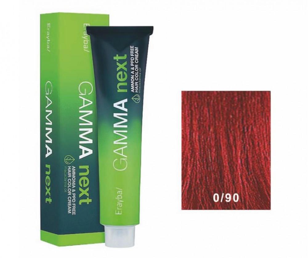 صبغة شعر جاما خالي من الامونيا لون احمر Ereyba Gamma next Ammonia  And