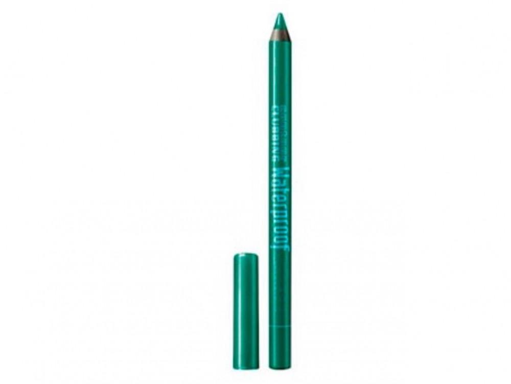 قلم ومحدد للعيون مقاوم للماء لون اخضر محبوب Contour Clubbing Waterproo