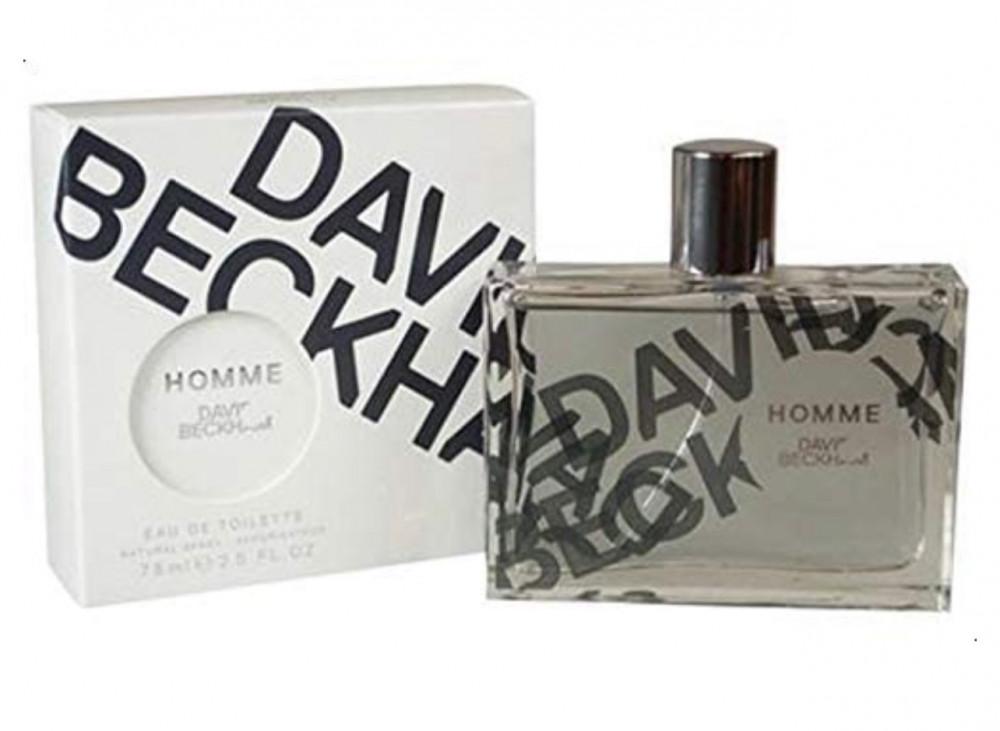 عطر بيكهام هوم للرجال او دي تواليت 75مل Beckham Homme for Men