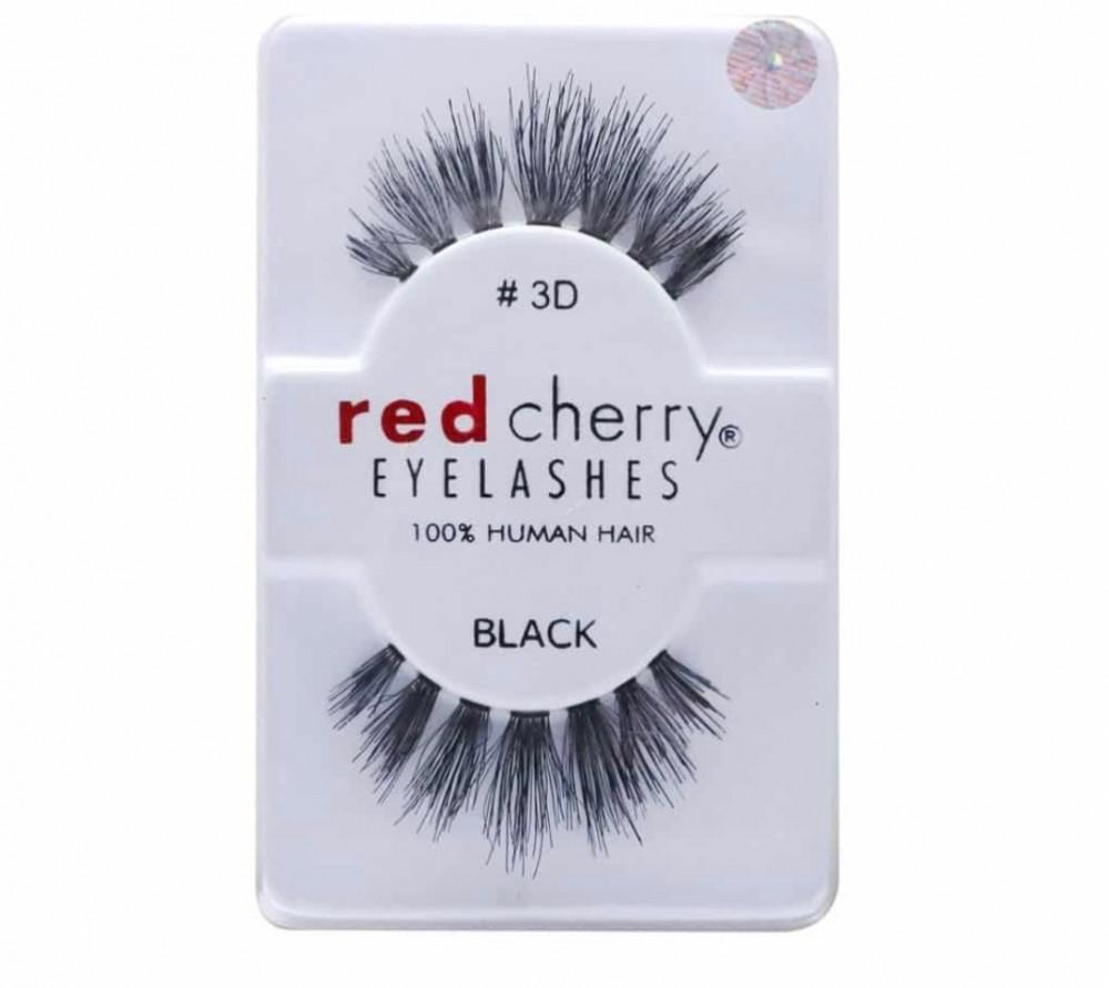 ريد تشيري رموش صناعية زوج 3D ريد شيري red cherry eye lashes