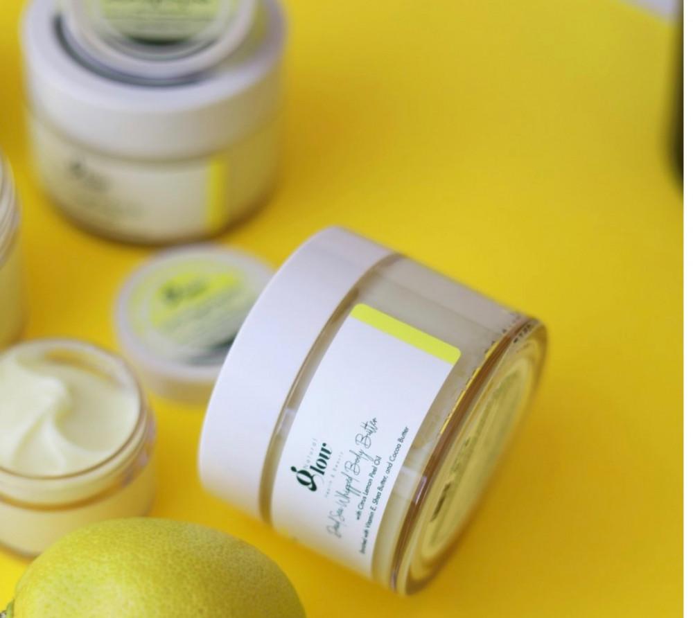 زبدة الجسم المخفوقة من البحر الميت بزيت الليمون 150غم