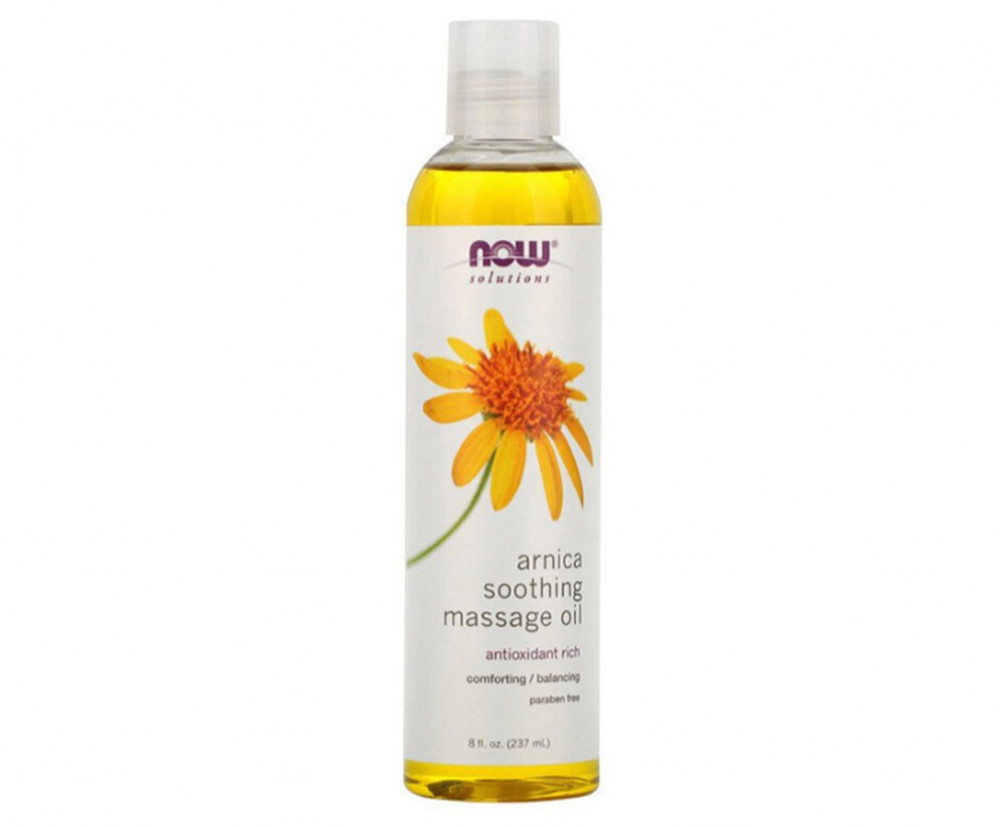 Now Foods Arnica Soothing Massage Oil
