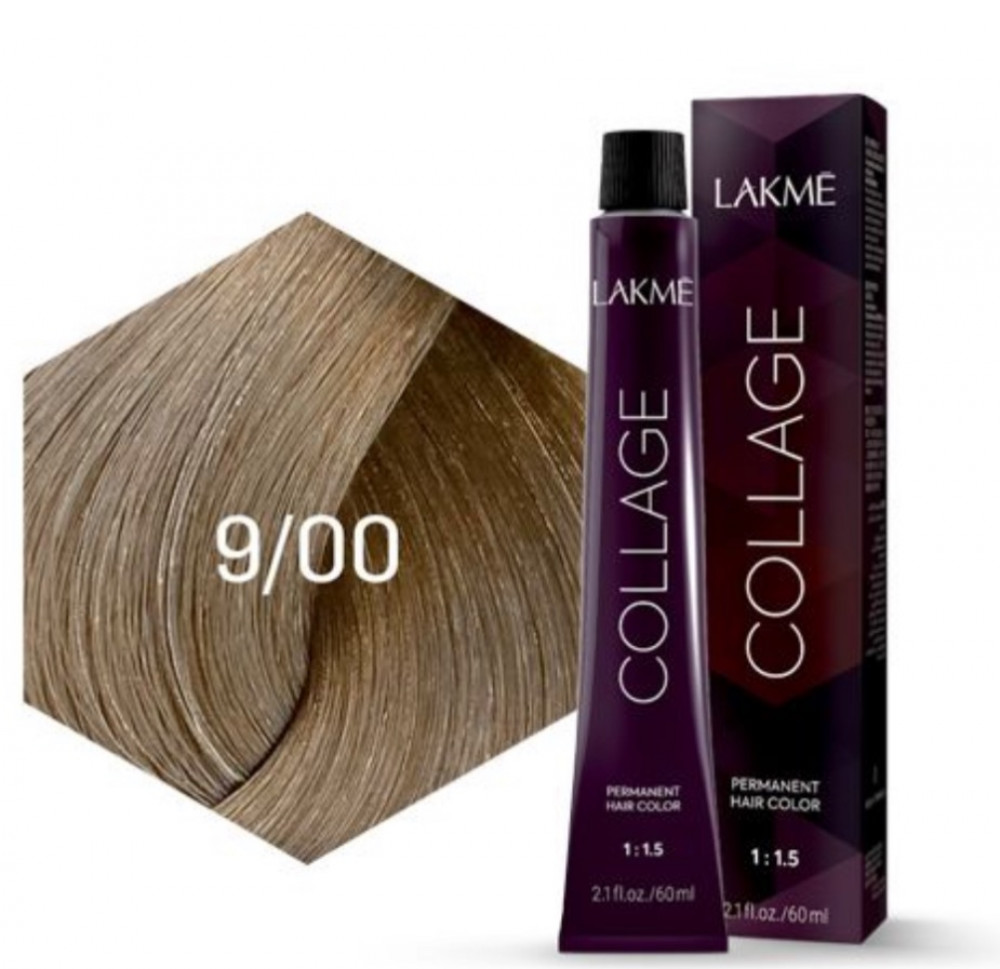 Lakme Collage Creme Hair Color 9-00 Very Light Blonde