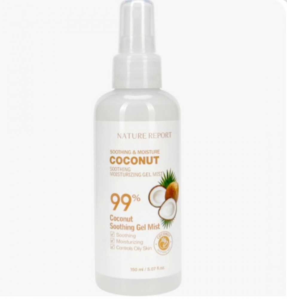 NATURE REPORT Natural COCONUT Soothing Moisturizing Mist