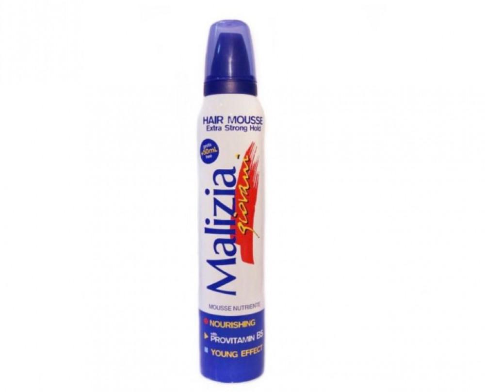 ماليزيا رغوة للشعر شفاف 250مل Malizia Hair Mousse