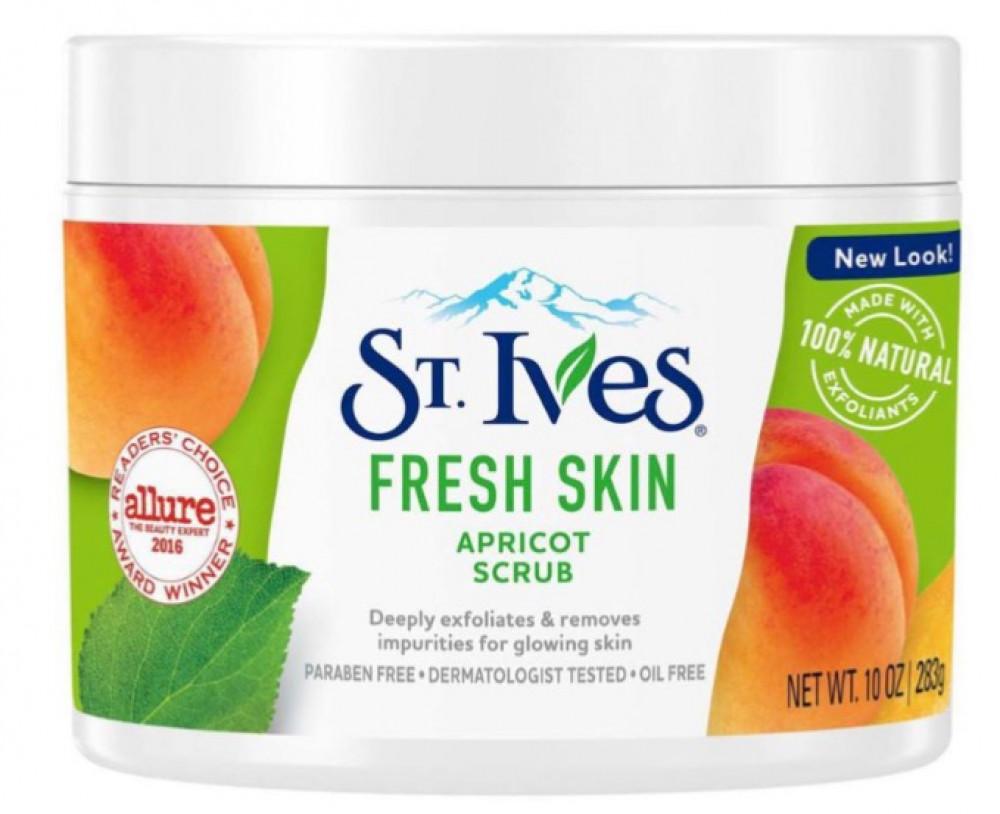 سانت ايفز مقشر المشمش منشط ومنعش للبشرة 283غم ST IVES Fresh Skin Face