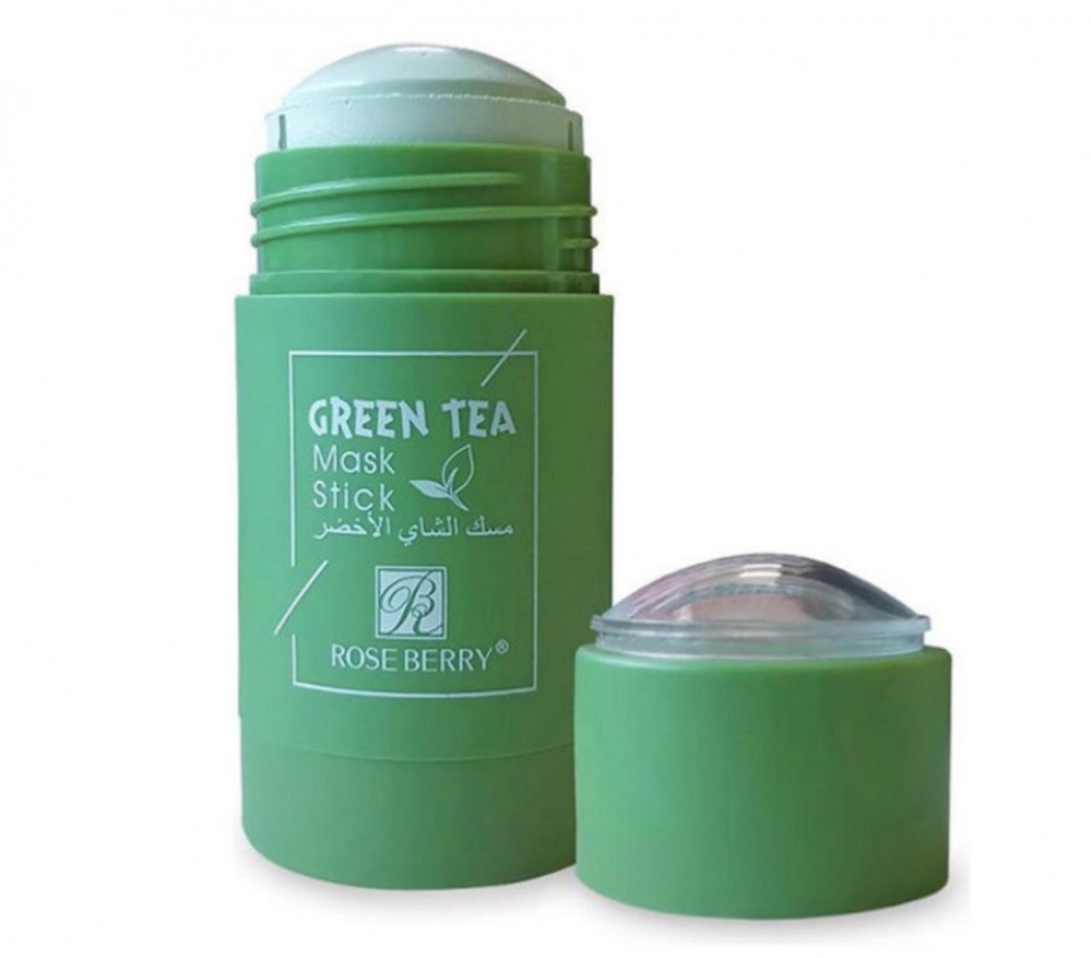روز بيري ماسك الشاي الاخضر الجديد 40غم Rose Berry A new Green Tea Mask
