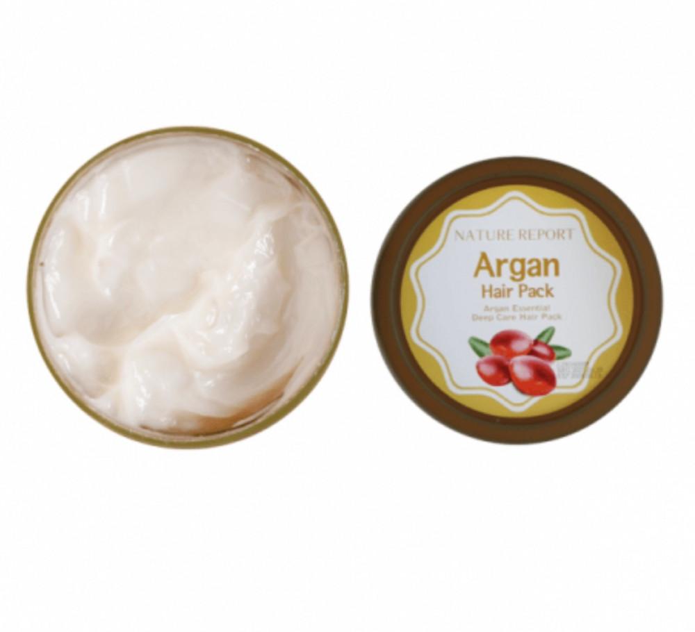 NATURE REPORT Argan Deep Care Hair Pack 200ml