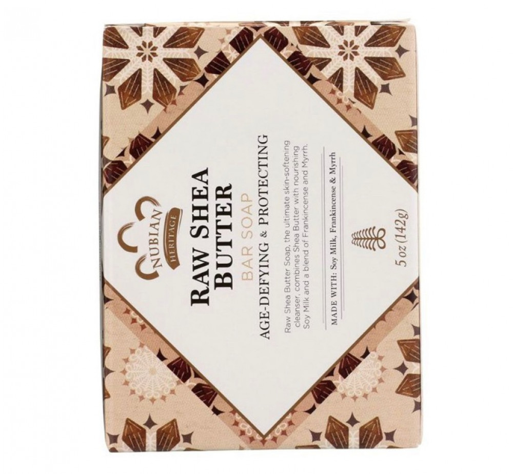 Nubian Heritage Bar Soap Raw Shea and Myrrh