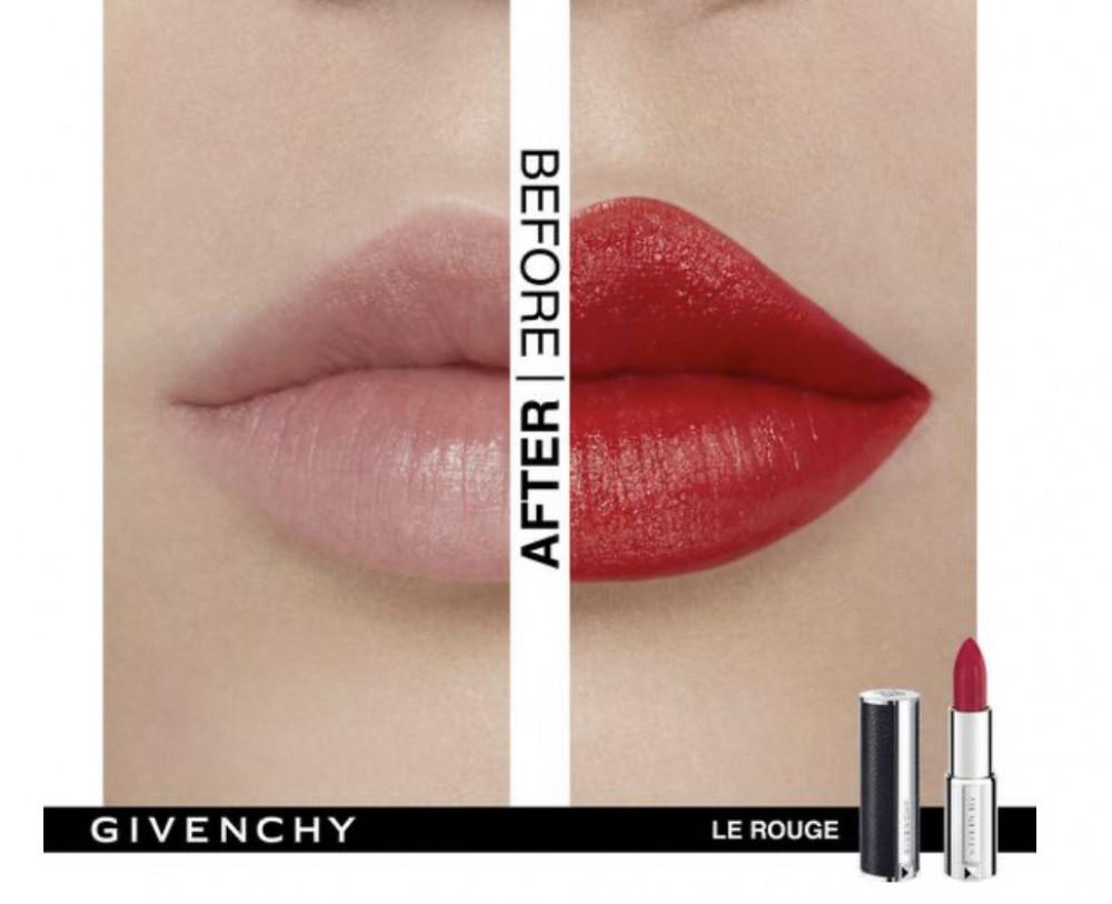 جيفنشي  احمر شفاه لو روج 306 كارمن اسكاربين مطفي  Givenchy Le Rouge 30