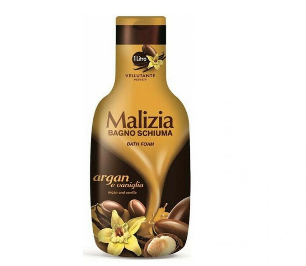 ماليزيا جل الاستحمام بالفانيليا والارجان 1لتر Malizia Velvety Vanilla