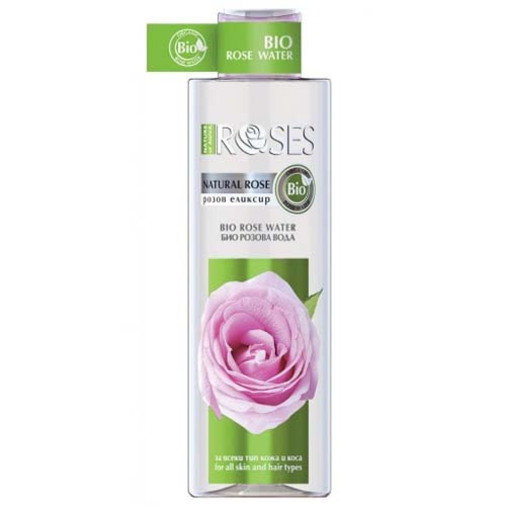 روزس ماء الورد العضوي الطبيعي منظف ومرط وموحد للشعر و البشرة 250مل