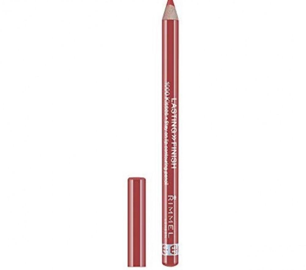ريميل قلم تحديد الشفاه لاستنج فينيش 1000 كيسيز  02 سبايسد نيود  Rimmel