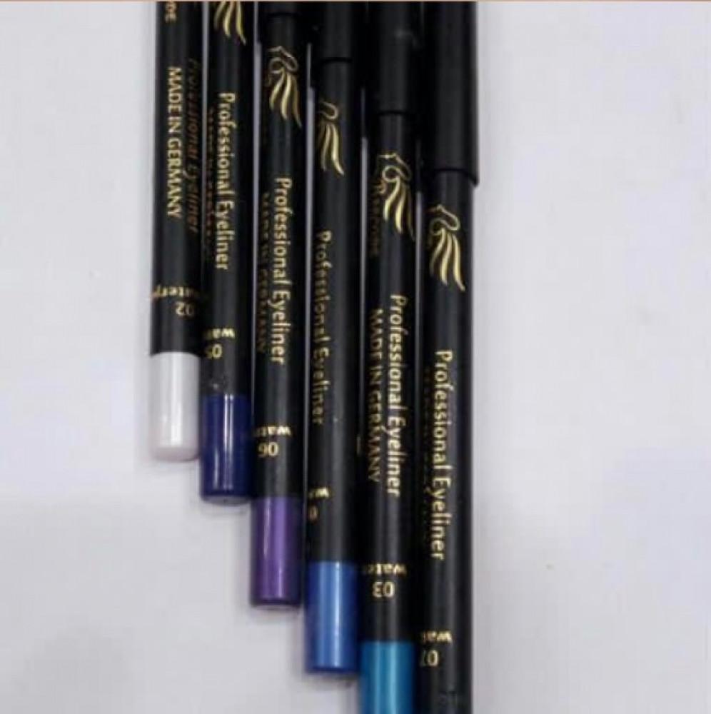 باركود  قلم تحديد العيون مكثف ومقاوم للماء 03 فيروزي  Barcode Intense