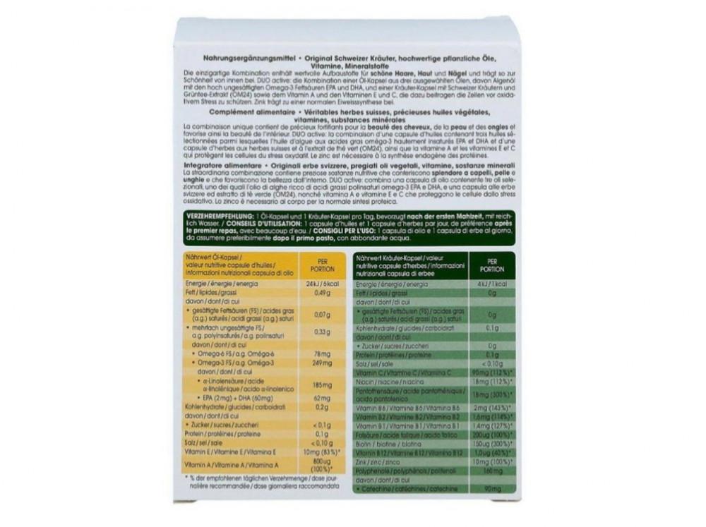 RAUSCH Swiss Herbal Vitality Capsules