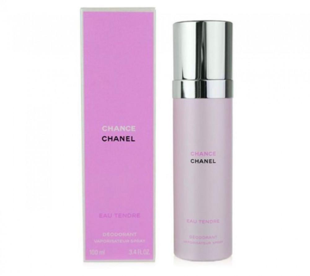شانيل بخاخ مزيل عرق معطر شانص ايو تيندر للجسم 100مل  Chanel Chance eau