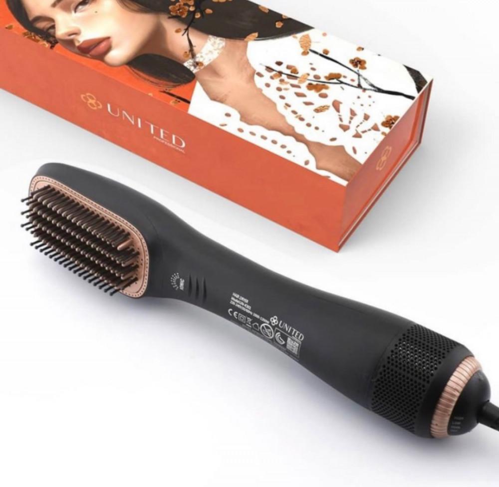 يوناتيد فرشاة شعر كهربائية حترافية UNITED UN-K301 W1200