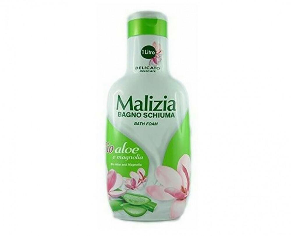 Malizia Bio Aloe And Magnolia Bath Foam