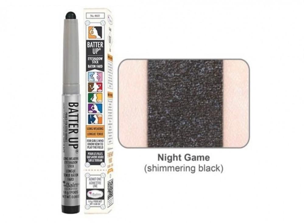 ذا بالم قلم ظل عيون نايت جيم the Balm Batter Up Eyeshadow Stick, Night