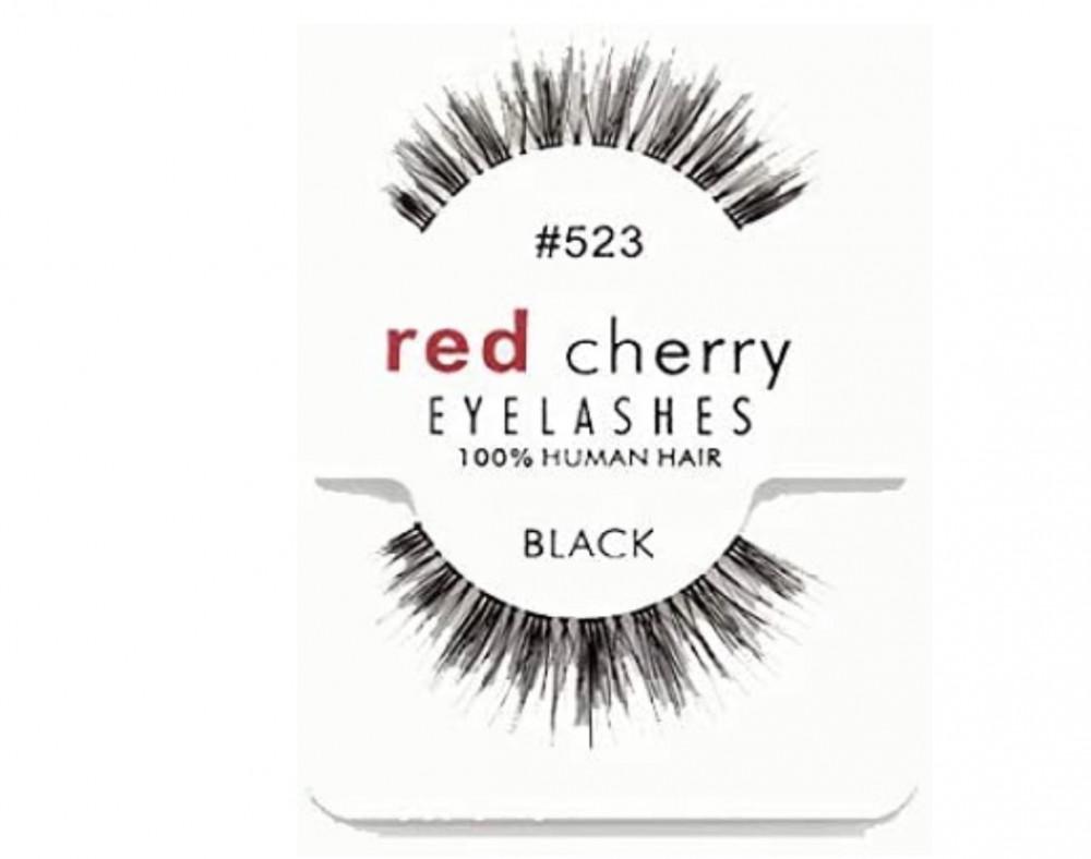 ريد تشيري رموش صناعية زوج 523 ريد شيري red cherry eye lashes