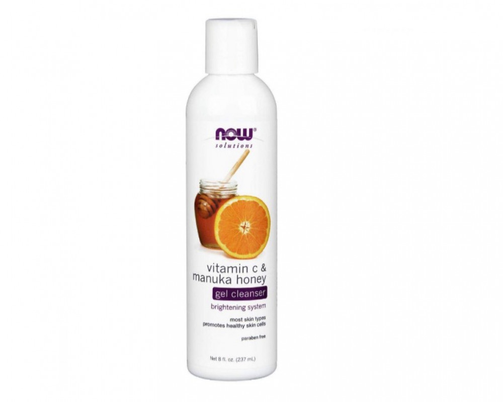Now Foods Gil Cleanser Vitamin C and manuka honey