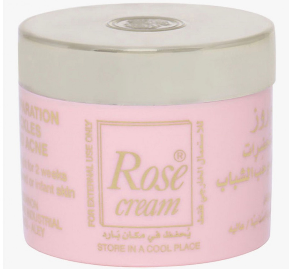 روز كريم روز للوجه للتنظيف البشرة 25 غم Rose Cream Face Cream