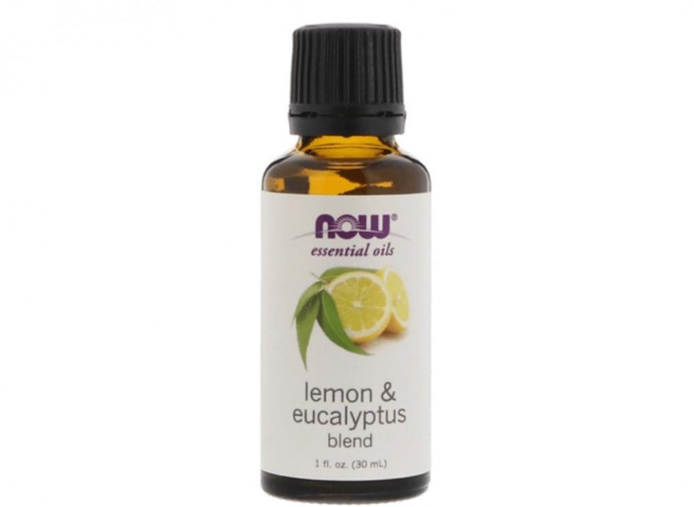 زيت عطري بالليمون والكافور 30مل من ناو فودز  NOW SOLUTIONS Lemon And e