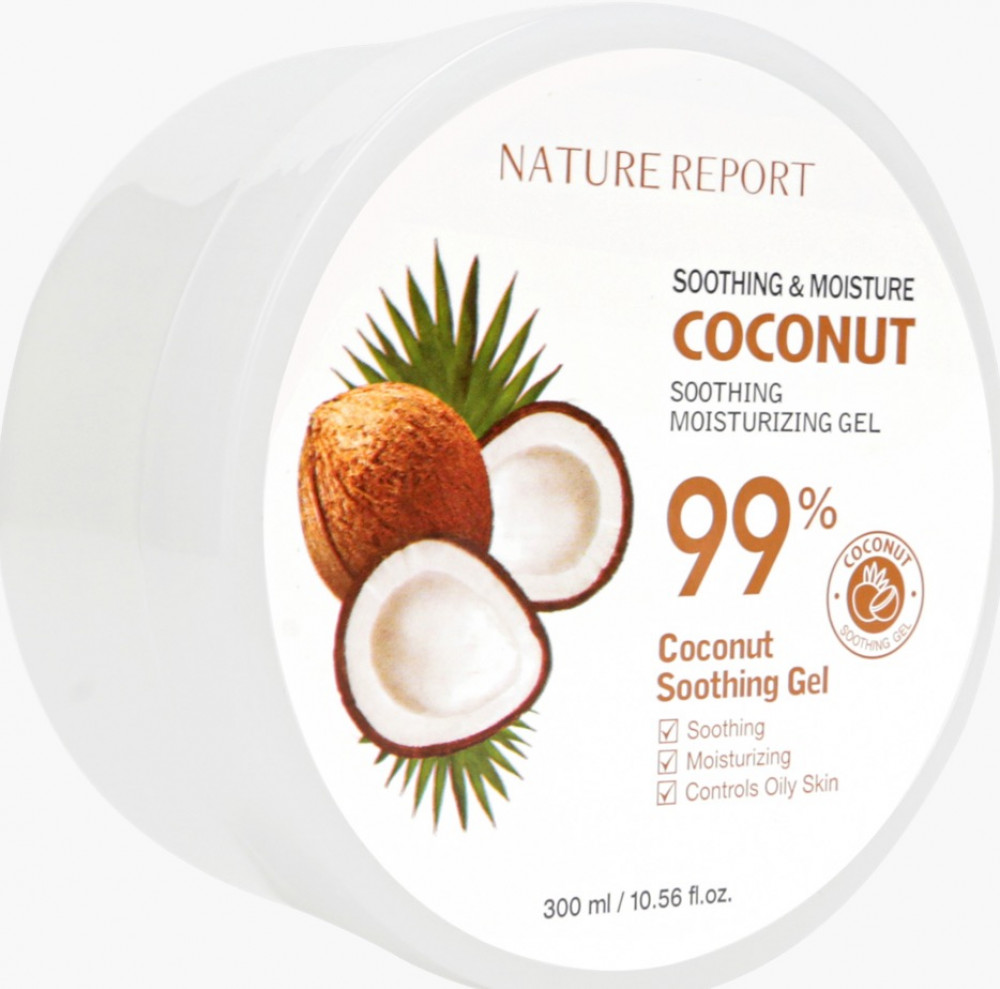 NATURE REPORT COCONUT Soothing Moisturizing Gel