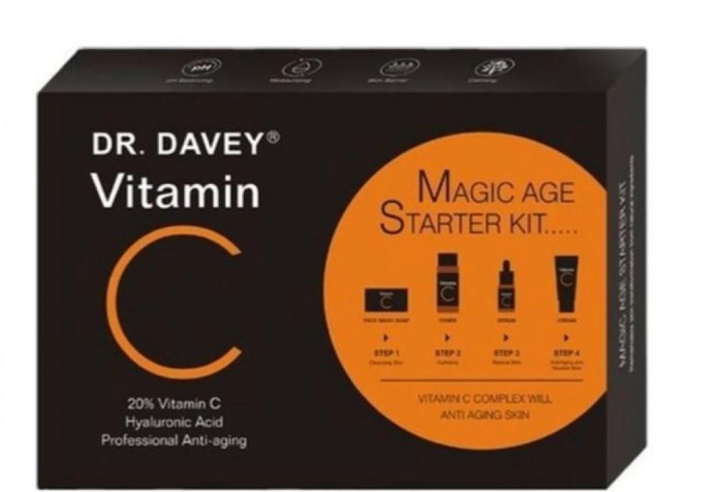 دكتور دافي مجموعة فيتامين سي للعناية بالبشرة 4 قطعة   VITAMIN C KIT PI