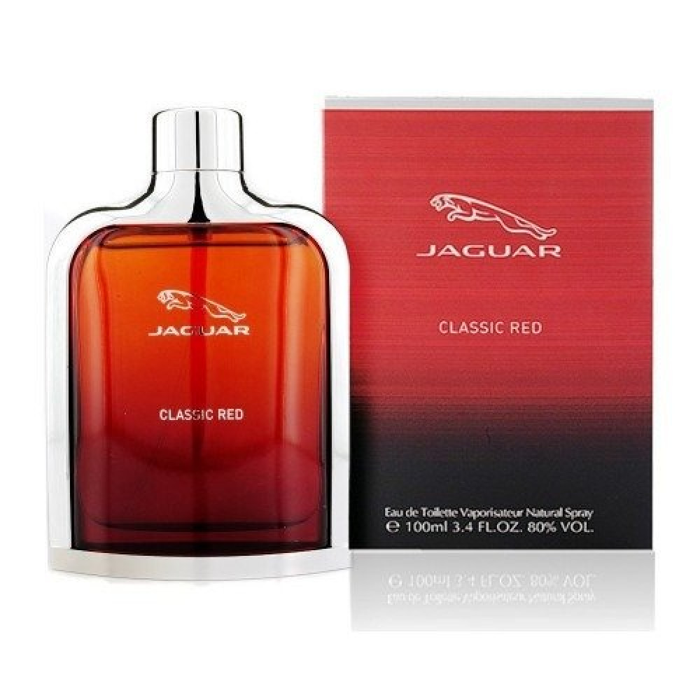 Jaguar Classic Red Eau de Toilette 100ml خبير العطور