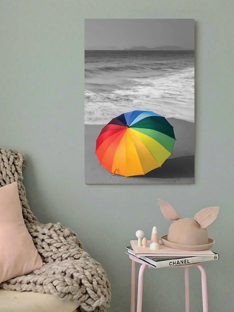 لوحة المظلة خشب ام دي اف مقاس 40x60 سنتيمتر